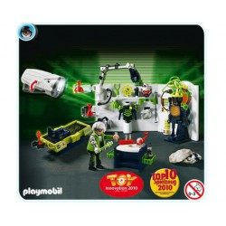 PLAYMOBIL Robo Gangster Laboratorium