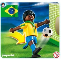 PLAYMOBIL Voetbalspeler Brazilie