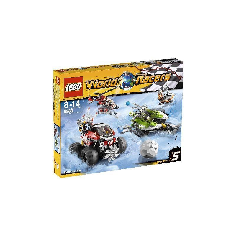 LEGO World Racers Sneeuwstorm Spits - Speelgoed van Zepper