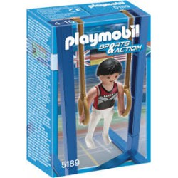 Playmobil Sports&Action Turner aan de Ringen