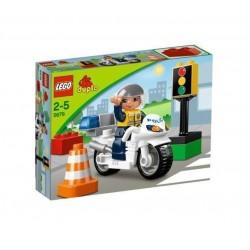 LEGO DUPLO Ville Politiemotor