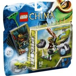 LEGO Chima Bowlen met rotsblokken