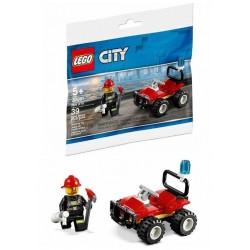 LEGO City Brandweer Quad (Polybag)