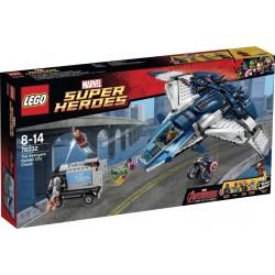 LEGO Super Heroes De Avengers Quinjet Stad Achtervolging