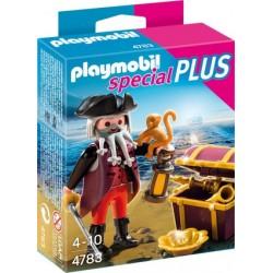 PLAYMOBIL Piraat Met Schatkist