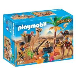 PLAYMOBIL Grafrovers met Egyptische schatten