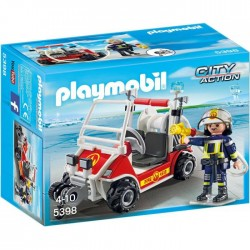 Playmobil Brandweerbuggy