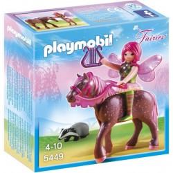 Playmobil Fee Surya met Ruby-paard