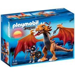 Playmobil Gouden draak met soldaat