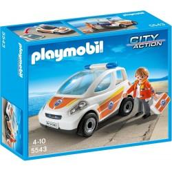Playmobil Eerste hulp ambulance met broeder