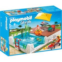 Playmobil Zwembad met terras
