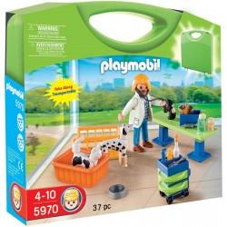 Playmobil Meeneemkoffer Dierenarts