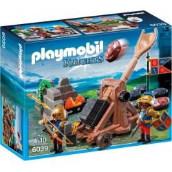Playmobil Katapult van de Leeuwenridders