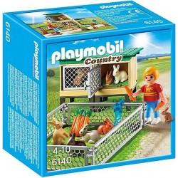 Playmobil Konijnenhok met buitenren
