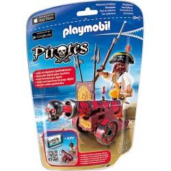 PLAYMOBIL Pirates Zeerover met rood kanon