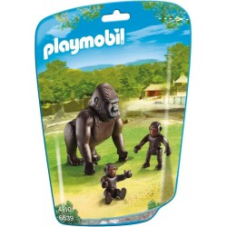 Playmobil Gorilla met baby's