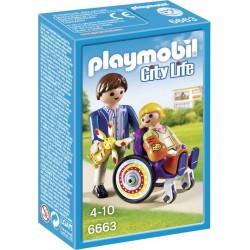 Playmobil Kind in rolstoel