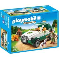 Playmobil Terreinwagen met boswachter