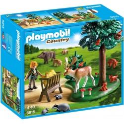 Playmobil Voederplaats voor bosdieren