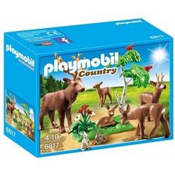 Playmobil Hertenfamilie met kalfje