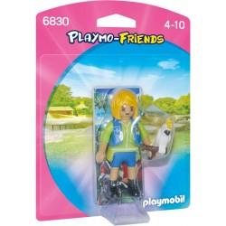Playmobil Verzorgster met kaketoe
