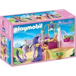 Playmobil Koninklijke stal met paard om te kammen