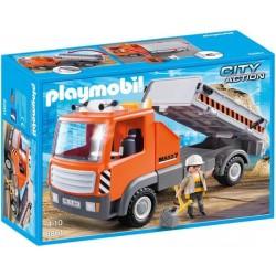 Playmobil Kiepvrachtwagen