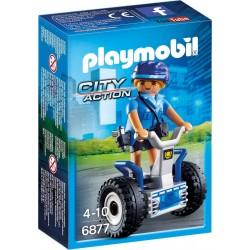 Playmobil Politieagente met balans racer