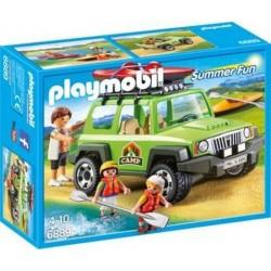 Playmobil Familieterreinwagen met kajaks