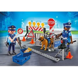 PLAYMOBIL City Action Politiewegversperring