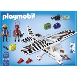 PLAYMOBIL Wild Life Safari vliegtuig