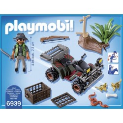 PLAYMOBIL Wild LifeStroper met quad