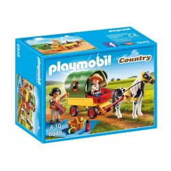 Playmobil Picknick met ponywagen