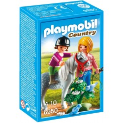 Playmobil Ponyrijden met mama