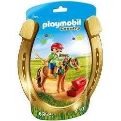 PLAYMOBIL Country Pony om te versieren Bloem