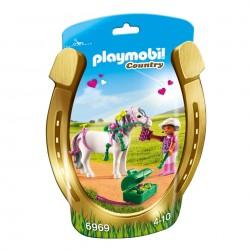 PLAYMOBIL Country Pony om te versieren Hart
