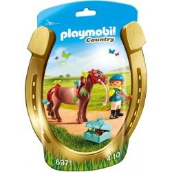 PLAYMOBIL Country Pony om te versieren Vlinder