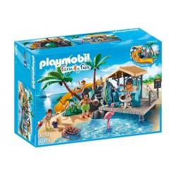 PLAYMOBIL Vakantie-eiland met strandbar