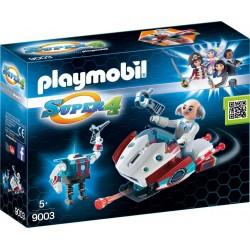 PLAYMOBIL Skyjet met Dr. X en robot