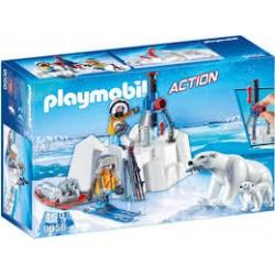 Playmobil Poolreizigers Met Ijsberen 9056