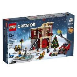 LEGO Creator Expert Brandweerkazerne in Winterdorp