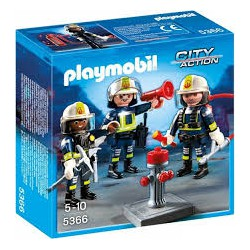 Playmobil Trio brandweermannen