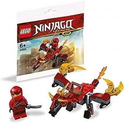 LEGO Ninjago Kai en de Vuurdraak (Polybag)
