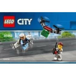 LEGO City Sky Politie Jetpack (Polybag)
