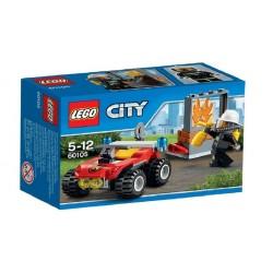 LEGO City Brandweer Terreinwagen