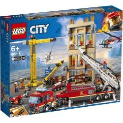 LEGO City Brandweerkazerne in de Stad